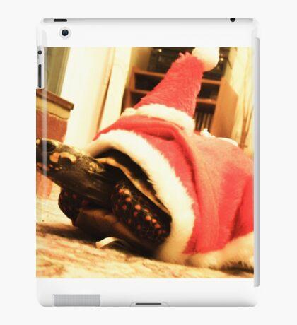 Santa tortoise  iPad Case/Skin