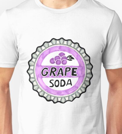 up grape soda pin  Unisex T-Shirt