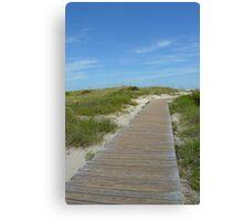 Trip to the Beach Canvas Print