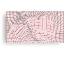 wave graph Canvas Print