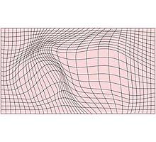 wave graph Photographic Print