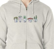 Plant Life Zipped Hoodie