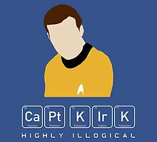 Highly Illogical Kirk by sebisghosts