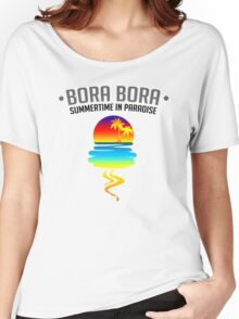 Another Day In Bora Bora Women's Relaxed Fit T-Shirt