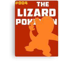 Charmander: The Lizard Pokemon Canvas Print
