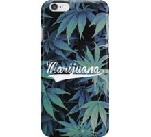 Marijuana's effect iPhone Case/Skin