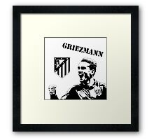 Antoine Griezmann - Atletico Madrid Framed Print