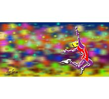 Long Jumper _ Olympic Sport 005 Photographic Print