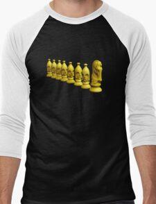 Chess Pieces Men's Baseball ¾ T-Shirt