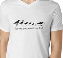 Wader Quest - Waders Need Love Too! Mens V-Neck T-Shirt
