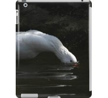 Diving goose iPad Case/Skin