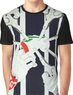 Hands and Cans Graphic T-Shirt