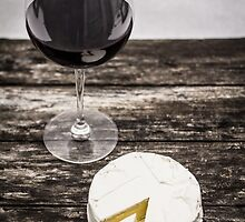 Wine and cheese by shutterkey