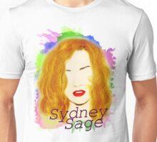 Flame in the dark- Sydney Sage Unisex T-Shirt
