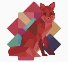 Origami Fox Kids Tee