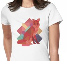 Origami Fox Womens Fitted T-Shirt