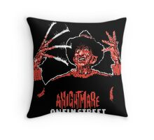Nintendo Nightmare on Elm Street Throw Pillow