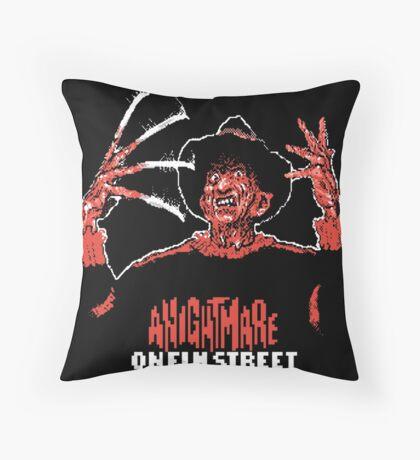 Nintendo Nightmare on Elm Street Throw Pillow