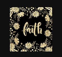 """""""faith"""",typography,cool text,christian,Jesus,religion,faith,God Women's Fitted V-Neck T-Shirt"""