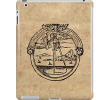 Constantia et Labore -  House of Plantin Printer's Mark iPad Case/Skin