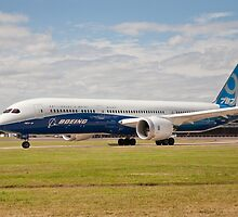 Boeing 787-9 by Keith Larby