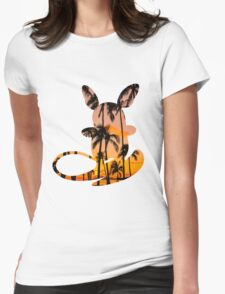 Raichu (alolan) used surf Womens Fitted T-Shirt