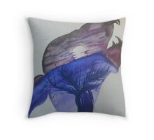 Moony Throw Pillow