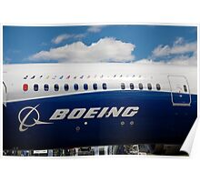 Boeing 787-9 Poster