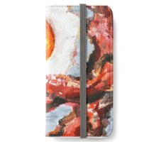 Eggs and Bacon Painting iPhone Wallet/Case/Skin