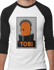 Tobi  Men's Baseball ¾ T-Shirt