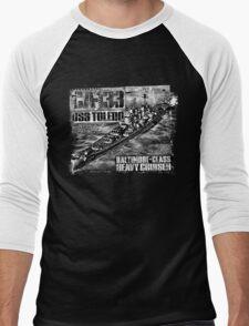 Heavy cruiser Toledo Men's Baseball ¾ T-Shirt