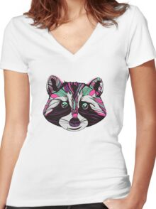 Raccarda Women's Fitted V-Neck T-Shirt
