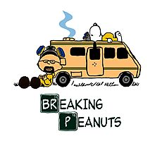 Breaking Peanuts Photographic Print