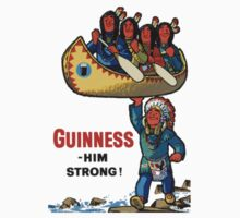 GUINNESS HIM STRONG One Piece - Short Sleeve