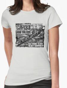 Heavy cruiser Toledo Womens Fitted T-Shirt