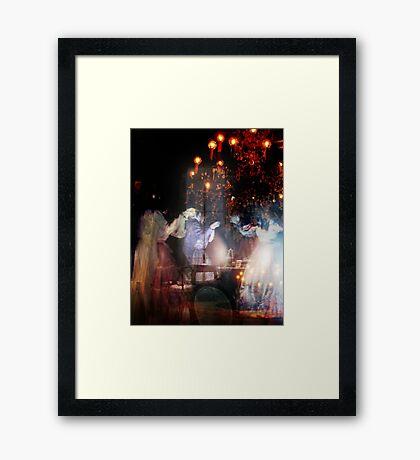 Macabre Waltz Framed Print