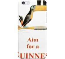AIM FOR A GUINNESS iPhone Case/Skin