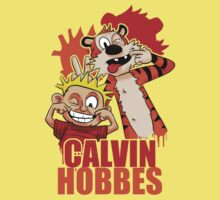Calvin and Hobbes Time Baby Tee