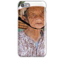 Wrinkled Eyes iPhone Case/Skin