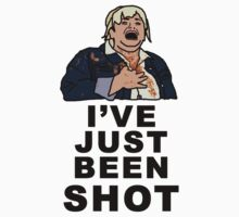 IVE JUST BEEN SHOT - Fat Amy by NancyAnnDesign