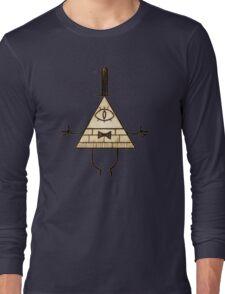 Bill Cipher - Gravity Falls Long Sleeve T-Shirt