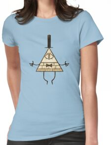 Bill Cipher - Gravity Falls Womens Fitted T-Shirt