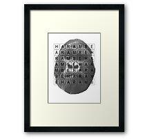 Harambe Memorial Framed Print