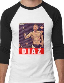 UFC 202 Diaz RED Men's Baseball ¾ T-Shirt