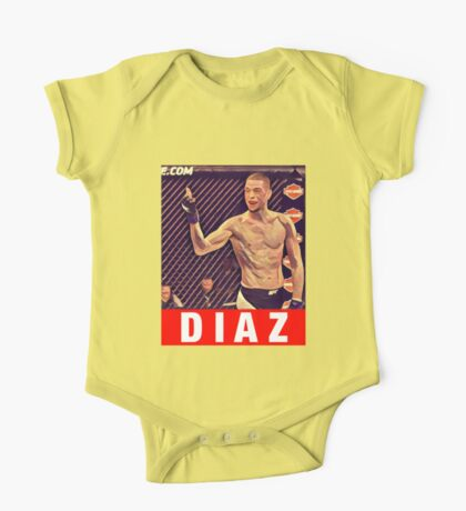 UFC 202 Diaz RED One Piece - Short Sleeve