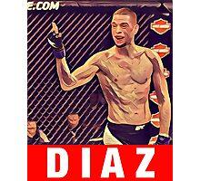 UFC 202 Diaz RED Photographic Print