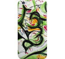 Green Abstract iPhone Case/Skin