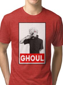 Ken Kaneki Tri-blend T-Shirt