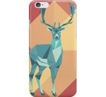 Origami deer iPhone Case/Skin