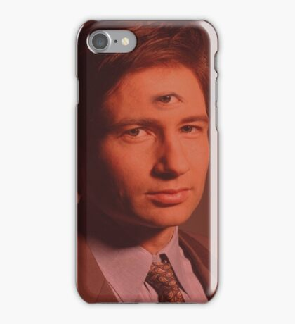 Mulder third eye  iPhone Case/Skin